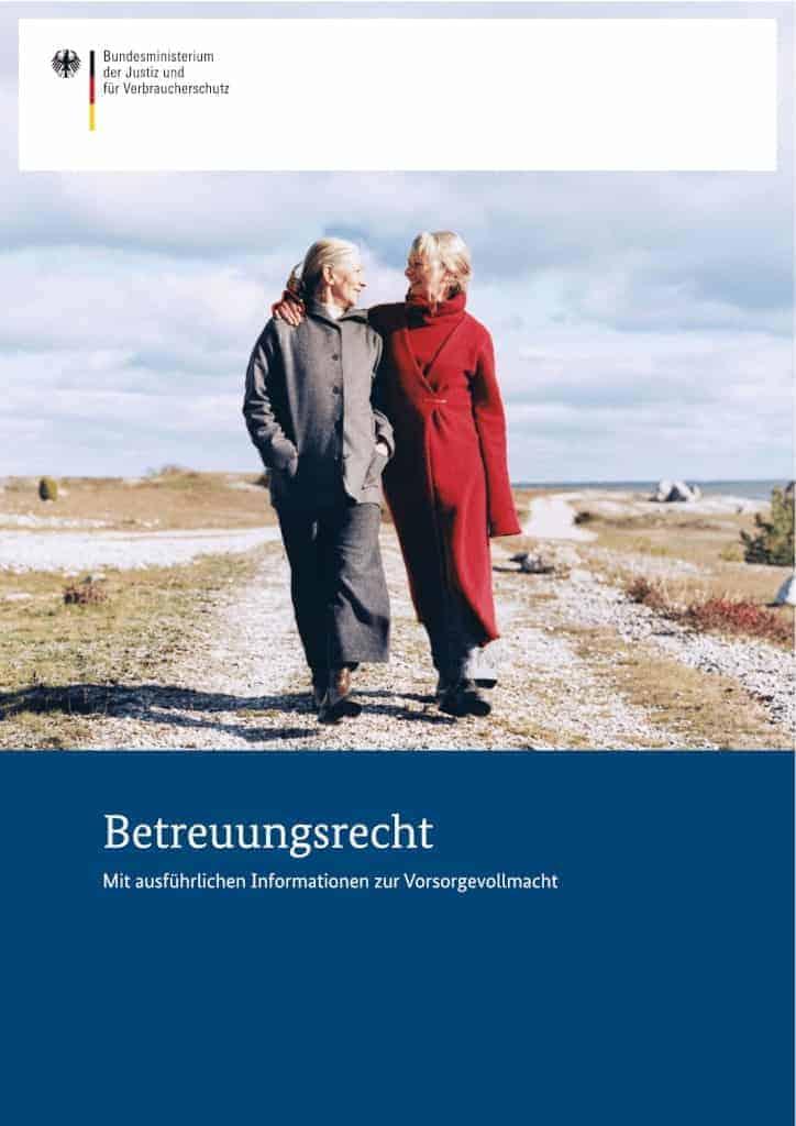 Betreuungsrecht Broschüre