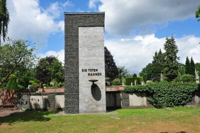 Alter Friedhof In Lingen Grabmal