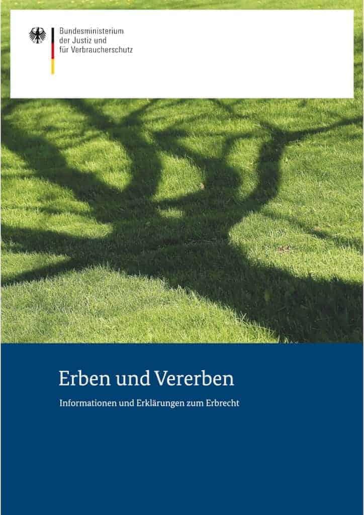 Erben Und Vererben Broschüre