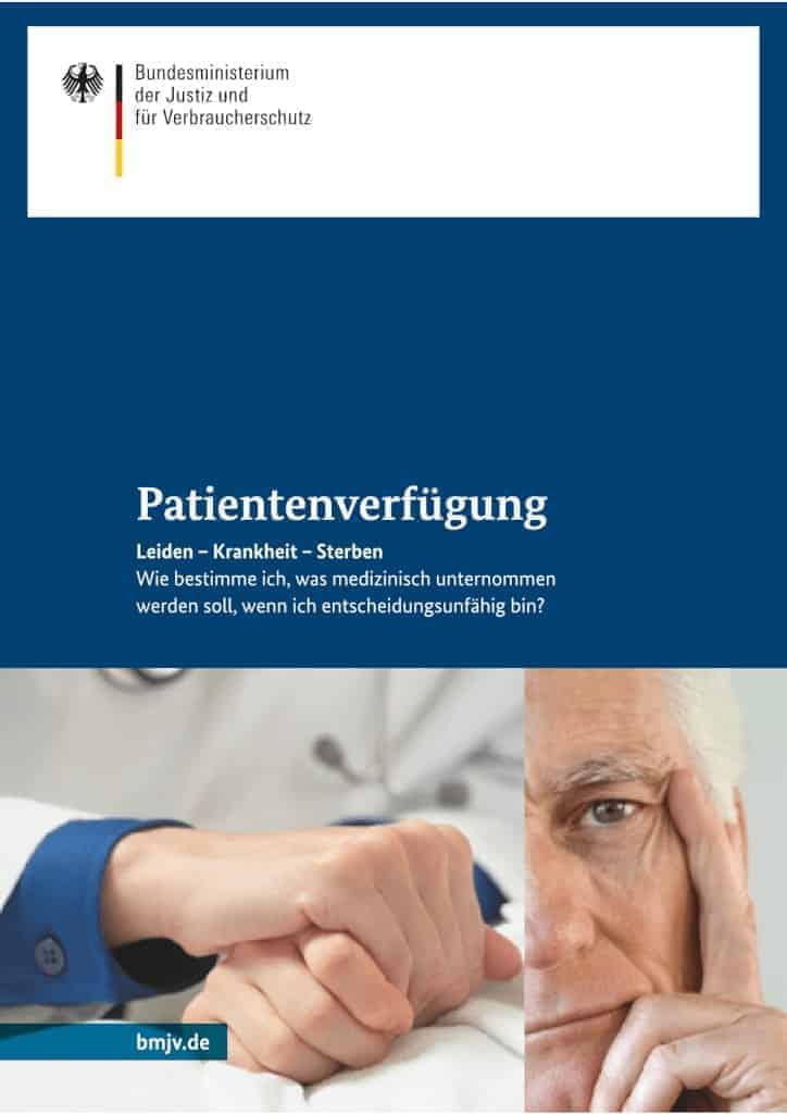 Patientenverfügung Broschüre
