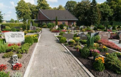 Friedhof In Bramsche