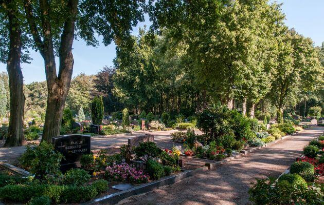 Gräber Auf Dem Neuen Friedhof Lingen