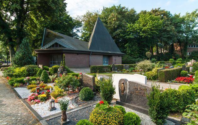 Kapelle Des Friedhofs In Schepsdorf