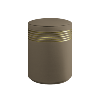 Urne Aus Keramik, Wave, Linde-Gold