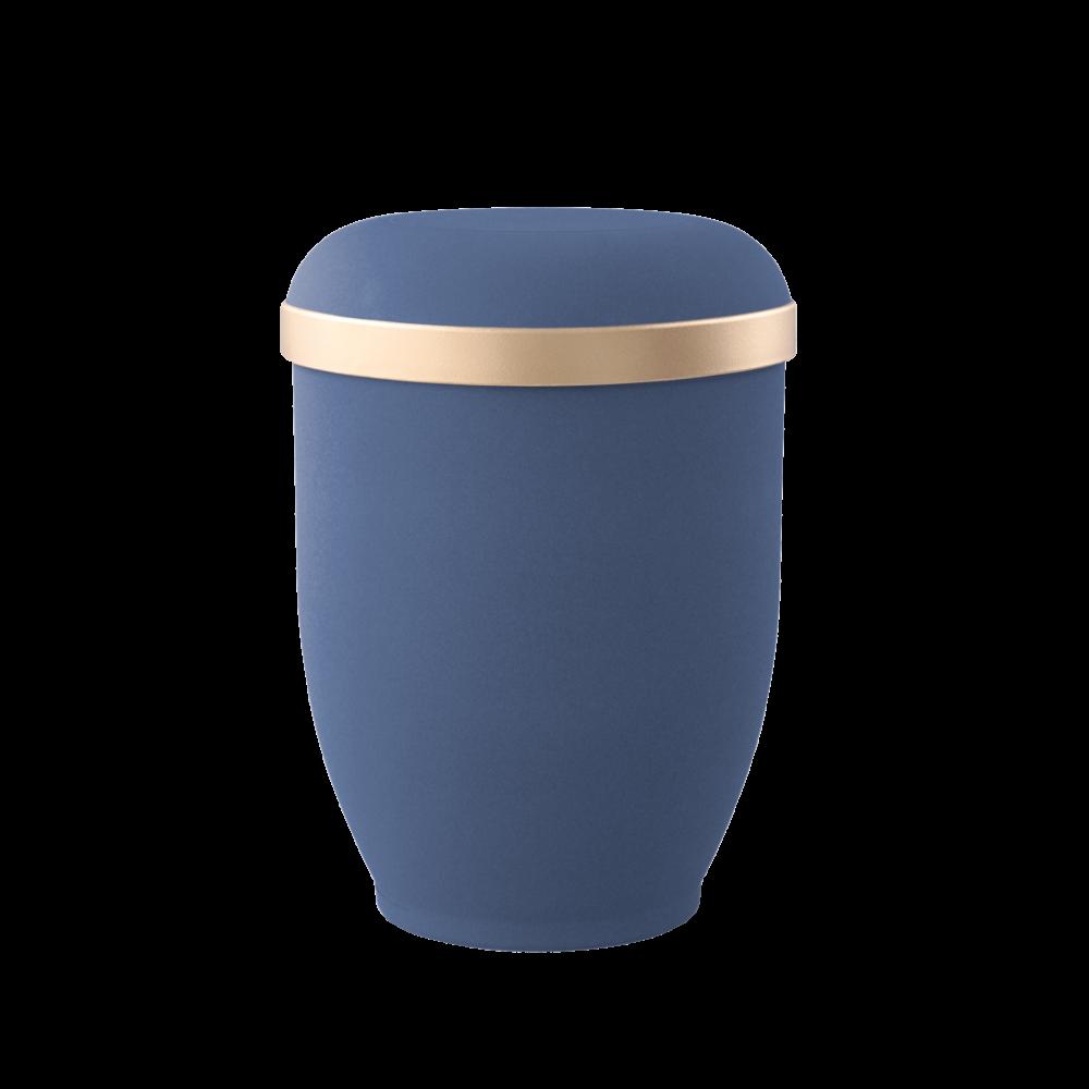 Urne aus Naturstoff, Edition Classic, Marine