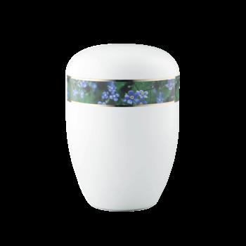 Urne Aus Naturstoff, Edition 360°, Vergissmeinnicht