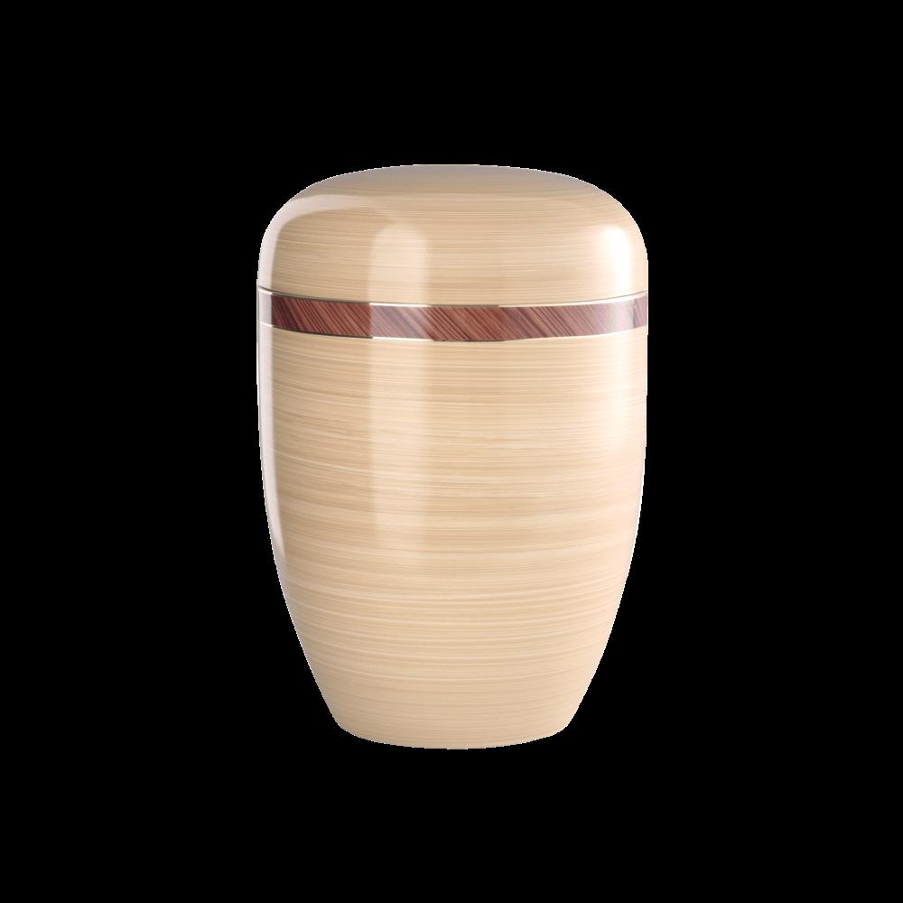 Urne aus Naturstoff, Edition Milano, Saharasand