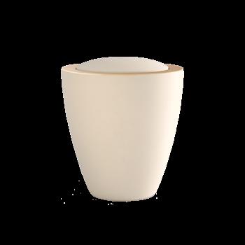 Urne Aus Keramik, Edition Modena Ceramica, Creme