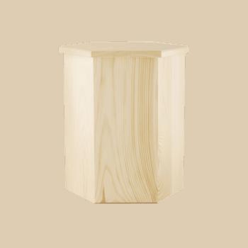 Urne Aus Holz, Nadelholz