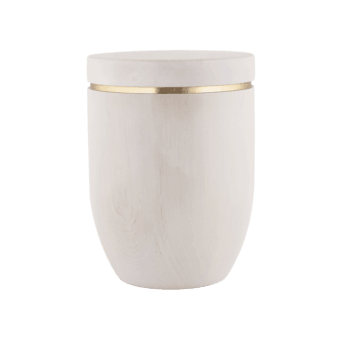 Urne Aus Holz, Edition Stella, Erle
