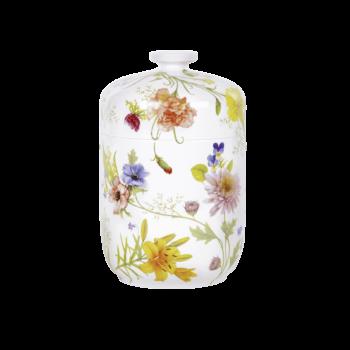 Urne Aus Porzellan, Edition Belvedere, Blumen