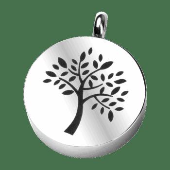 Aufbewahrungsanhänger Baum Aus Edelstahl