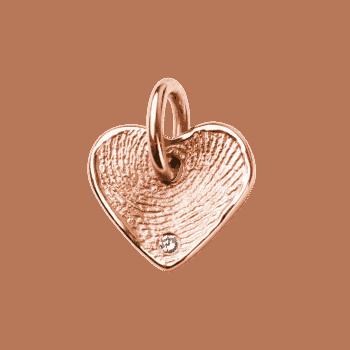 Goldstückchen Lovely Mit Stein In Roségold