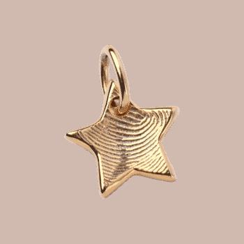 Goldstückchen Starlet In Gelbgold