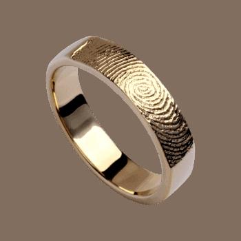 Ring Eternity Mit Gelbgold