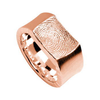 Ring Impression In Roségold