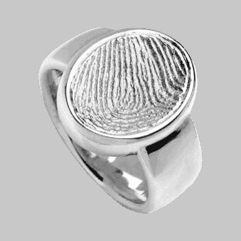 Ring Siegelring In Sterlingsilber