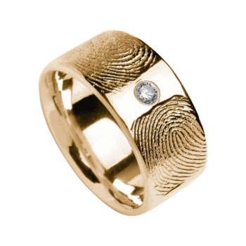 Ring Duo In Gelbgold (Swarowski)
