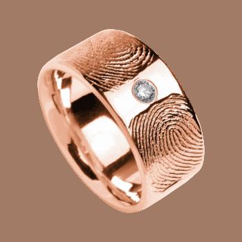 Ring Duo In Roségold (Swarowski)