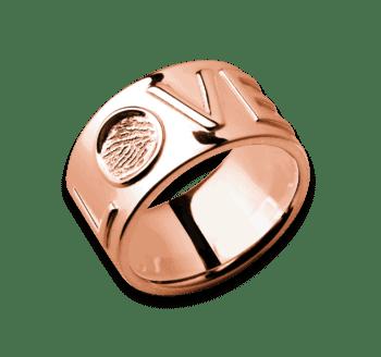 Ring Love In Roségold