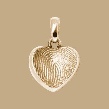 Schmuckanhänger Herz In Gelbgold
