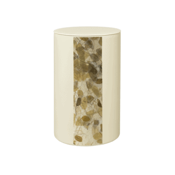 Urne Aus Keramik, Leaf Rondo, Vertikal