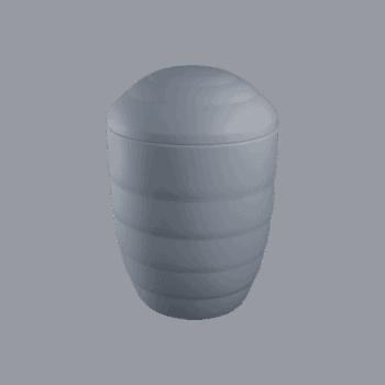 Urne Aus Keramik, Verde, Taubenblau