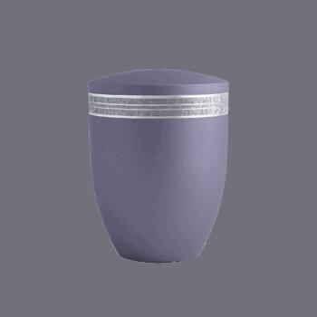 Urne Aus Naturstoff, Edition Krypta, Lavendel