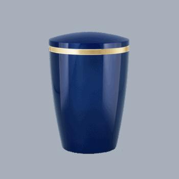 Urne Aus Naturstoff, Edition Brilliant, Königsblau